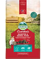 OXBOW 1022090100 Essentials Hamster/Gerbil Food 1-Pound Bag