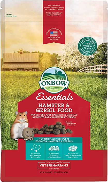 Top 10 Oxbow Essential Hamster Food
