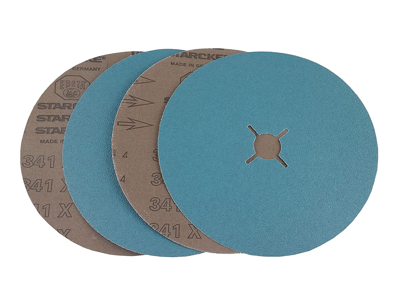 Cloth Back 7 x 7//8 Hole Mercer Industries 410120 Floor Sanding Edger Disc Zirconia 25 Pack Grit 120X