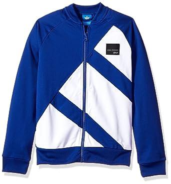 3194ccf1132f Amazon.com  adidas Originals Boys Kids EQT Track Top  Clothing