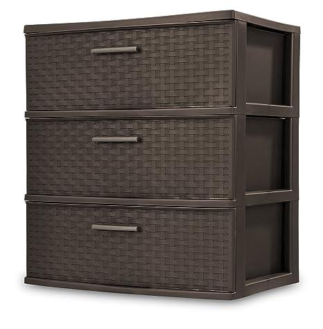 Amazon.com: STERILITE - Torre de almacenamiento de 3 cajones ...
