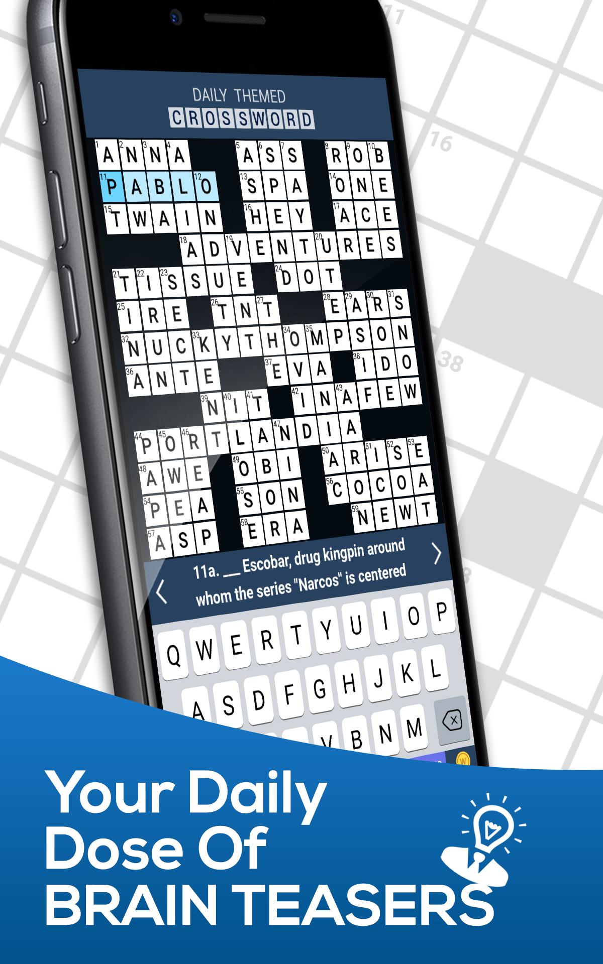 Amazon Com Daily Themed Crossword A Fun Crossword Game