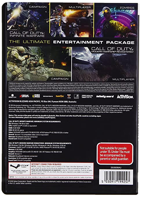 Buy Call of Duty: Infinite Warfare (PC DVD) Online at Low Prices in