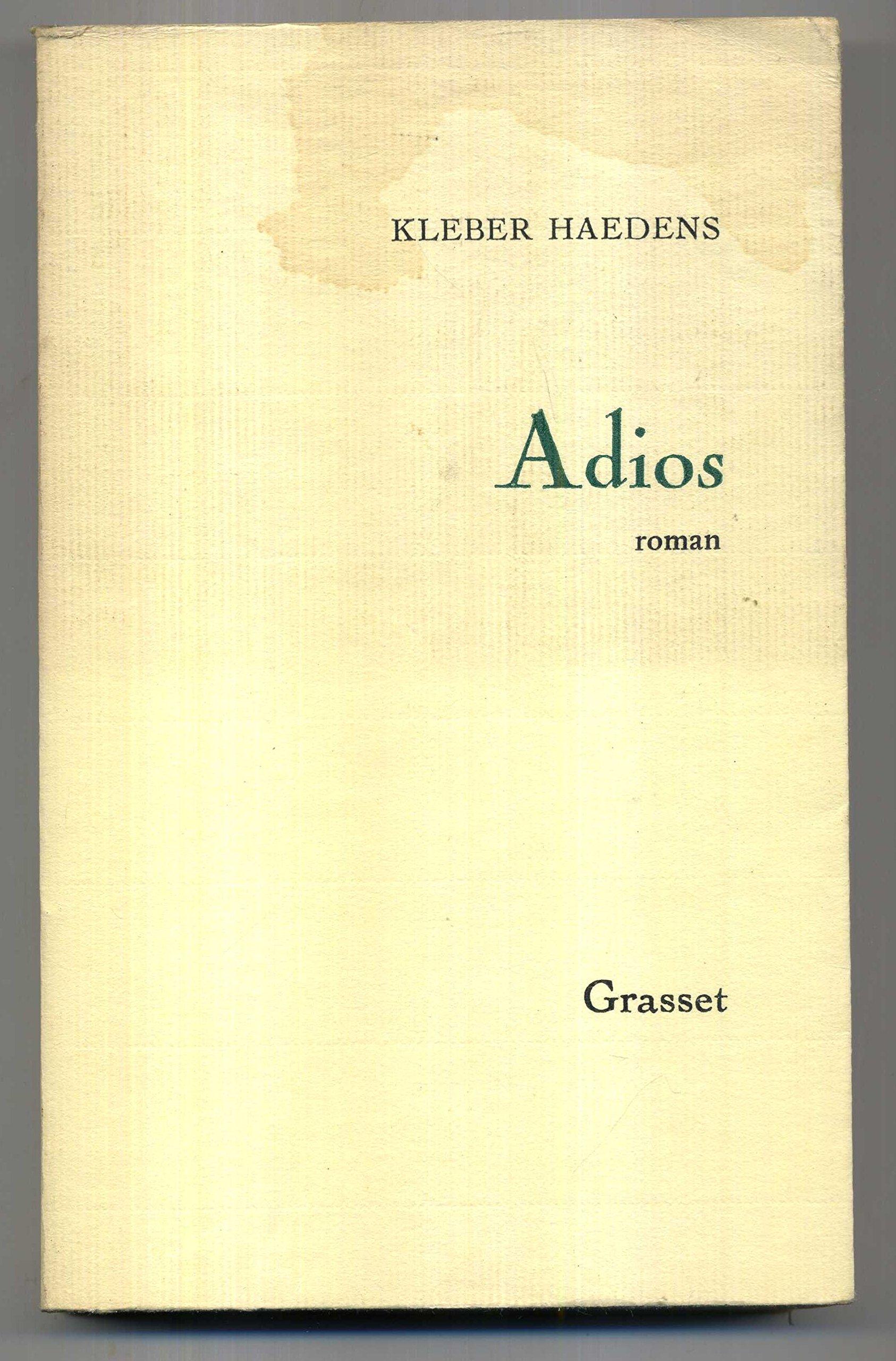 Couverture de Adios
