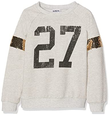 best service fe3db f2b96 Mek Felpa Bambina: Amazon.it: Abbigliamento