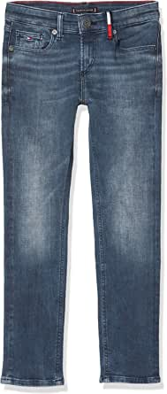 Tommy Hilfiger Scanton Slim Smgbst Jeans para Niños
