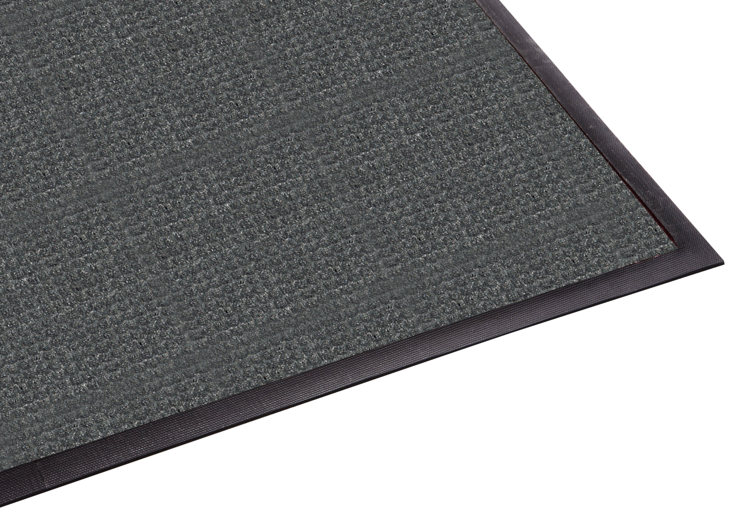 Guardian WaterGuard Indoor/Outdoor Wiper Scraper Floor Mat, Rubber/Nylon, 3'x4', Charcoal