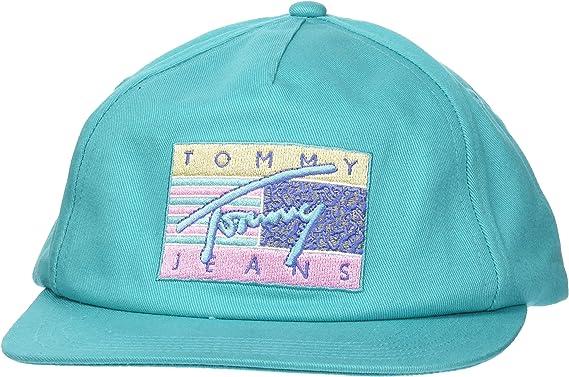 Tommy Hilfiger TJM Surf Flat Brim Cap Gorra de béisbol para Hombre
