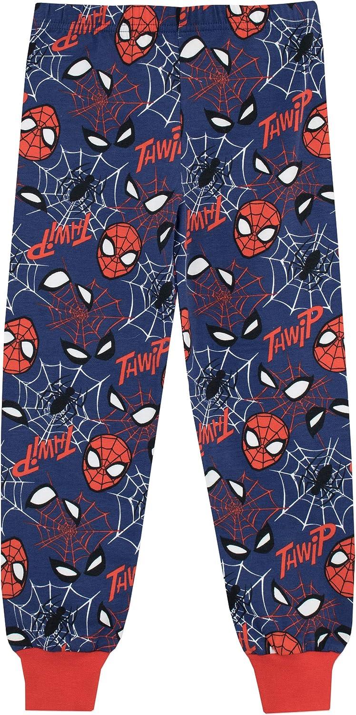 Marvel Pigiama per Ragazzi Spiderman Uomo Ragno Vestibilitta Stretta