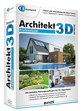 Architektur Programme   Architekt 3d X9 Professional Amazon De Software