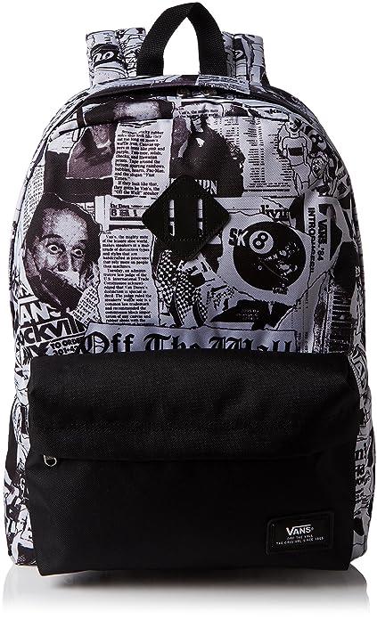 Vans Old skool II Backp Mochila para Hombre, Color Negro, Talla Talla única: Amazon.es: Zapatos y complementos