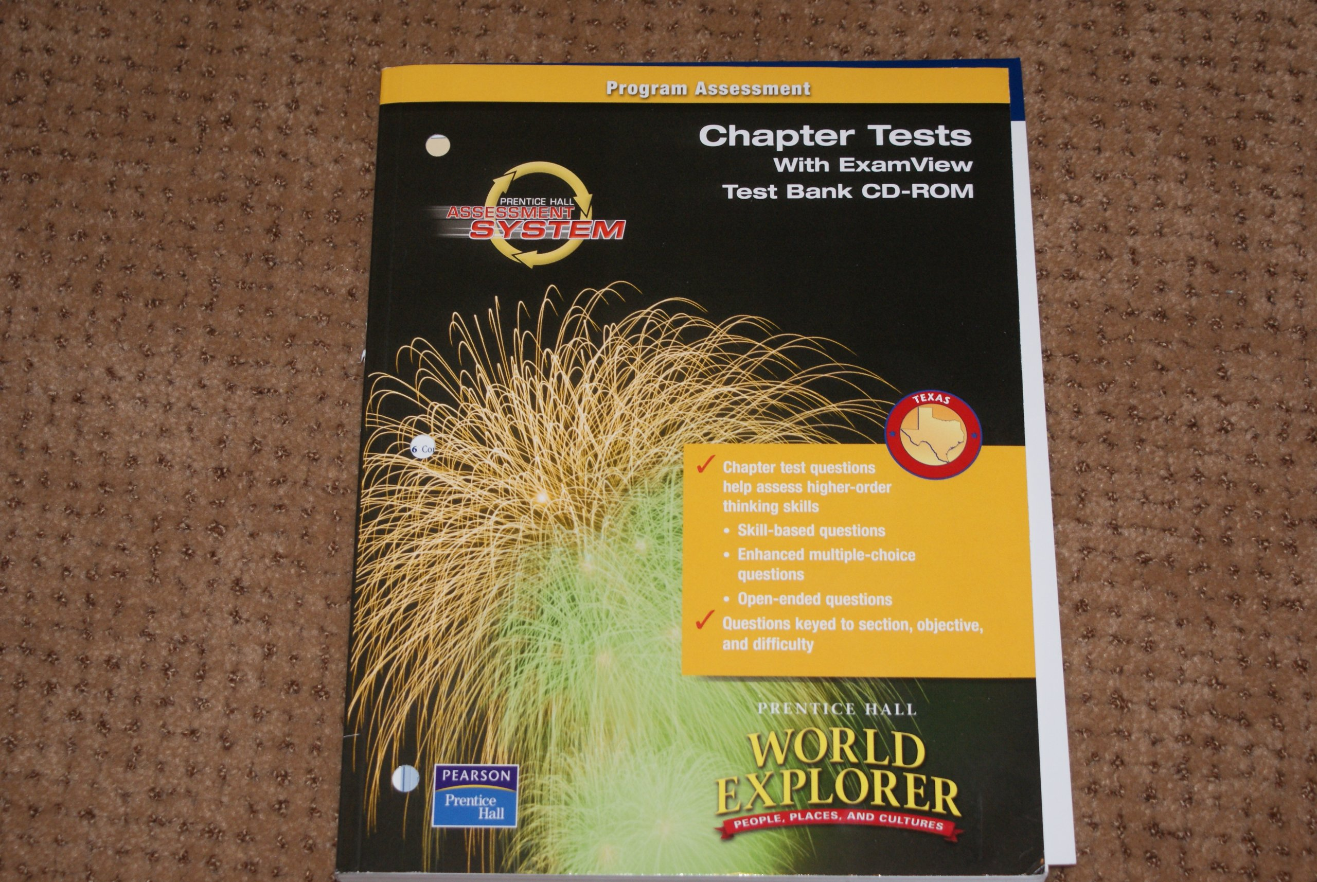 World Explorer People, Places and Cultures (Chapter Tests