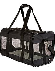 AmazonBasics Transporttasche für Haustiere, weiche Seitenteile