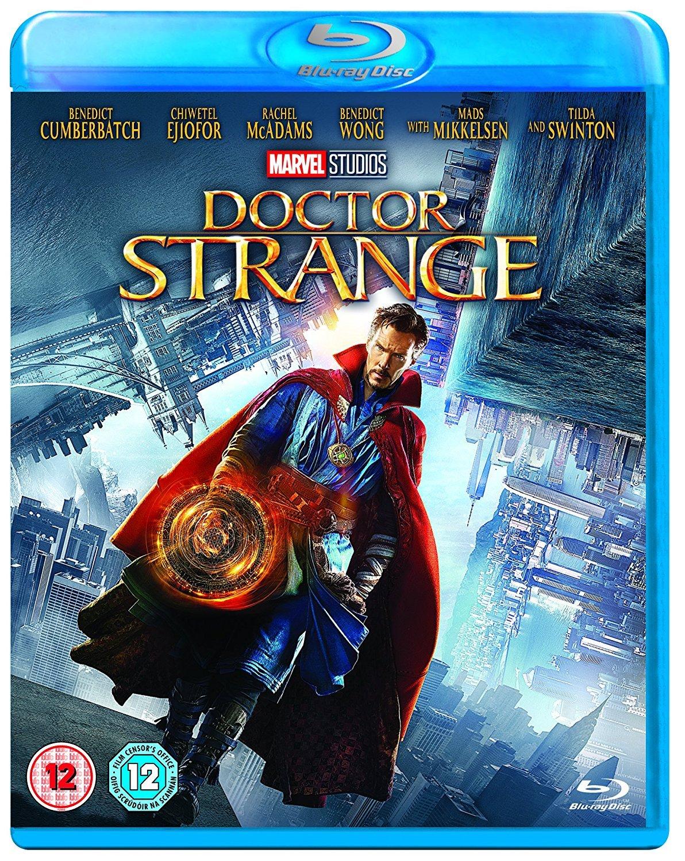 Amazon Com Marvel S Doctor Strange Blu Ray 2016 Benedict Cumberbatch Tilda Swinton Chiwetel Ejiofor Rachel Mcadams Mads Mikkelsen Scott Derrickson Movies Tv
