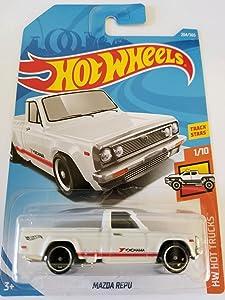 Hot Wheels 2018 50th Anniversary HW Hot Trucks Mazda Repu 204/365, White