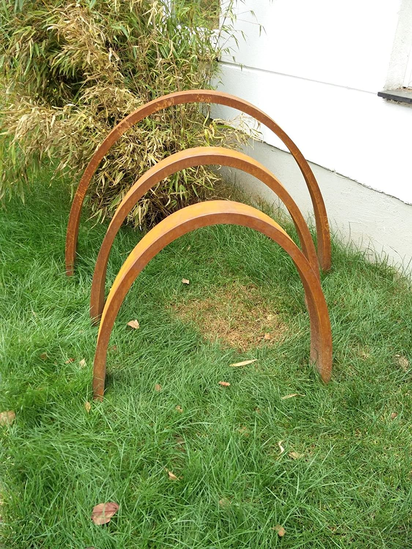Jardín Inspiration Escultura de jardín jardín conector 3 unidades ...
