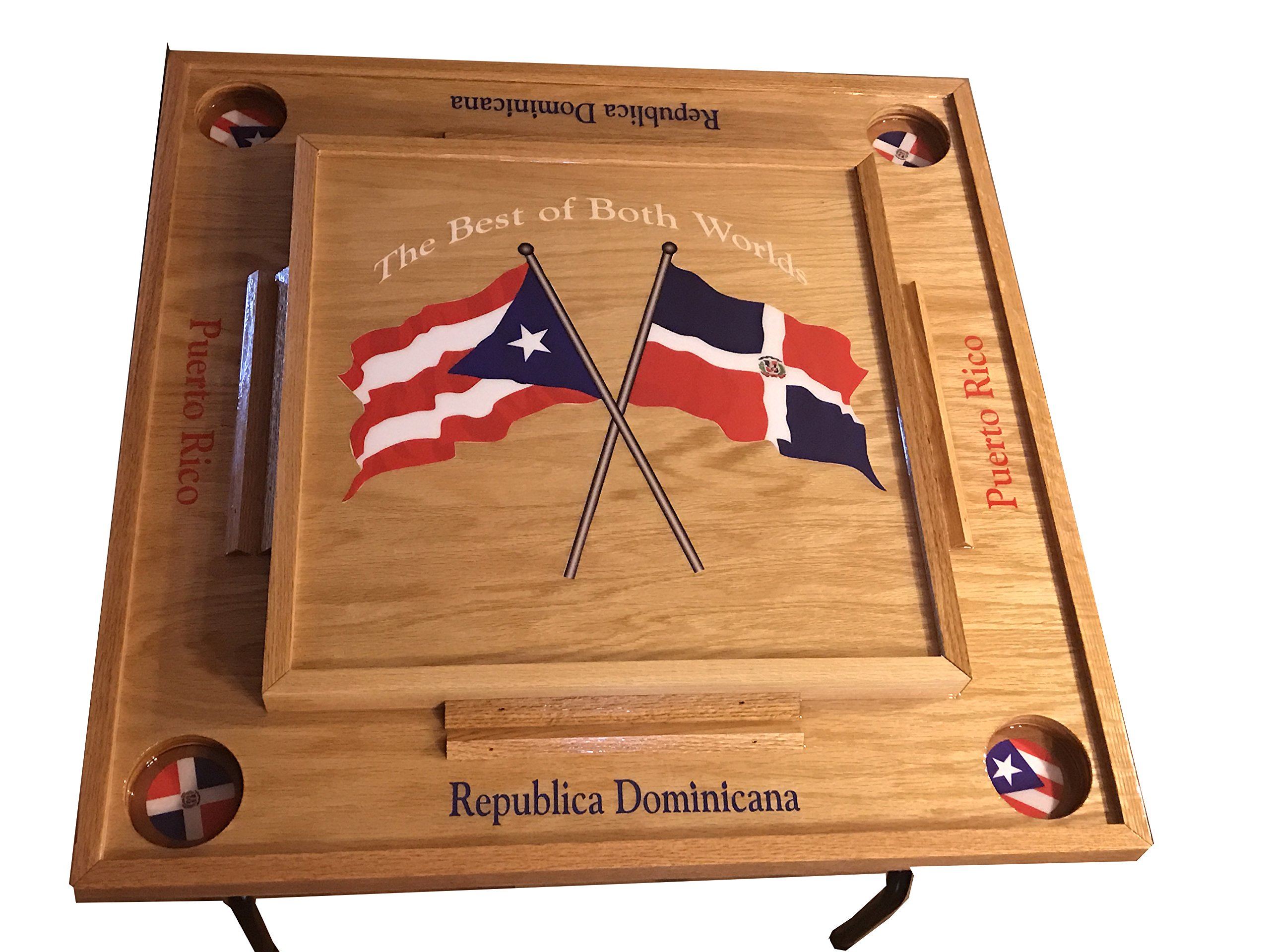 Puerto Rico & Dominican Republic Domino Table by latinos r us