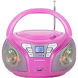 AudioSonic CD-1560 Radio portable stéréo Rose