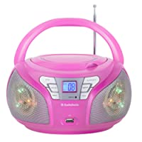 AudioSonic CD-1560 Radio portable stéréo Rose