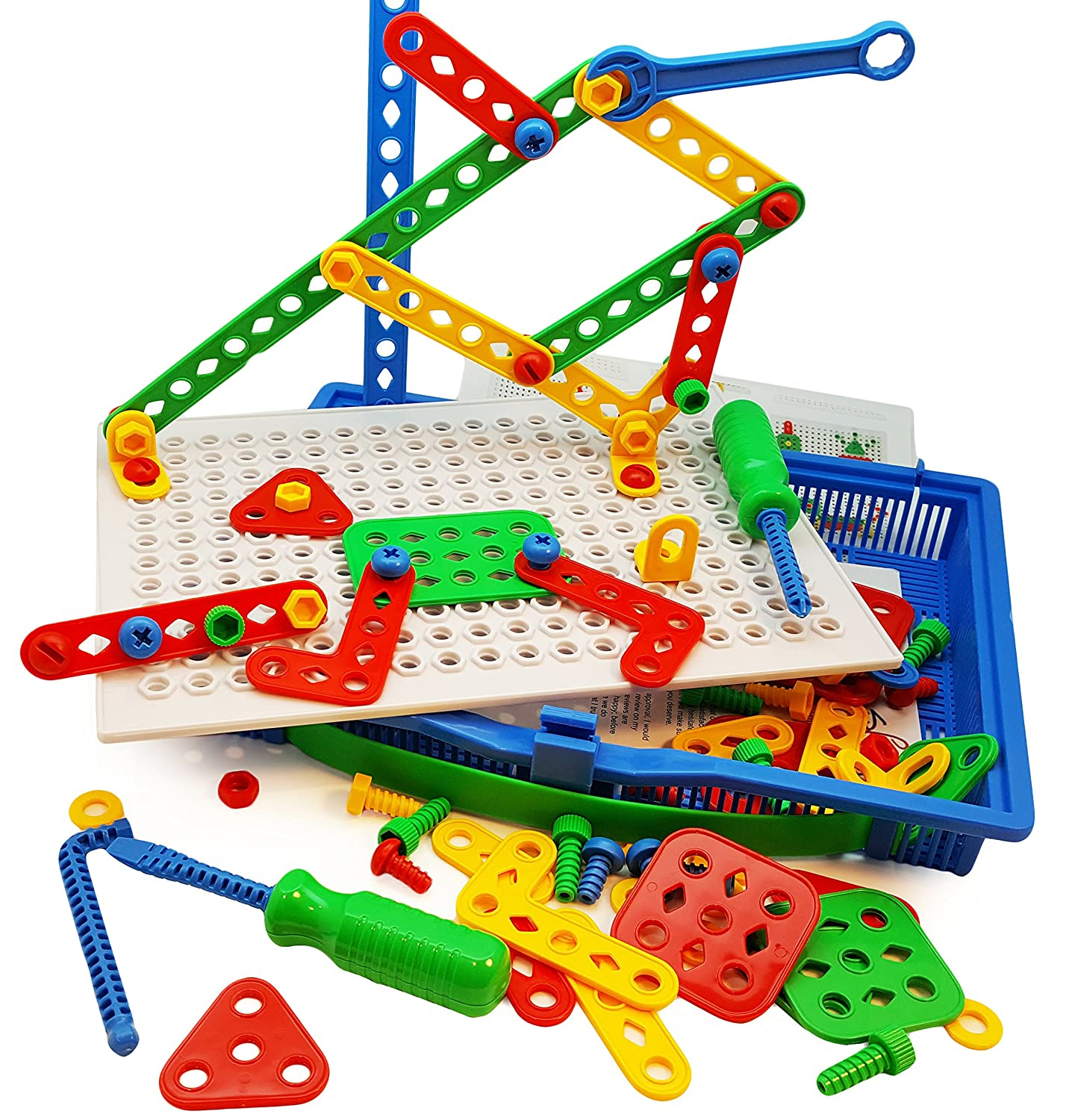 Construction Building Toys Tool Kit by Skoolzy plete