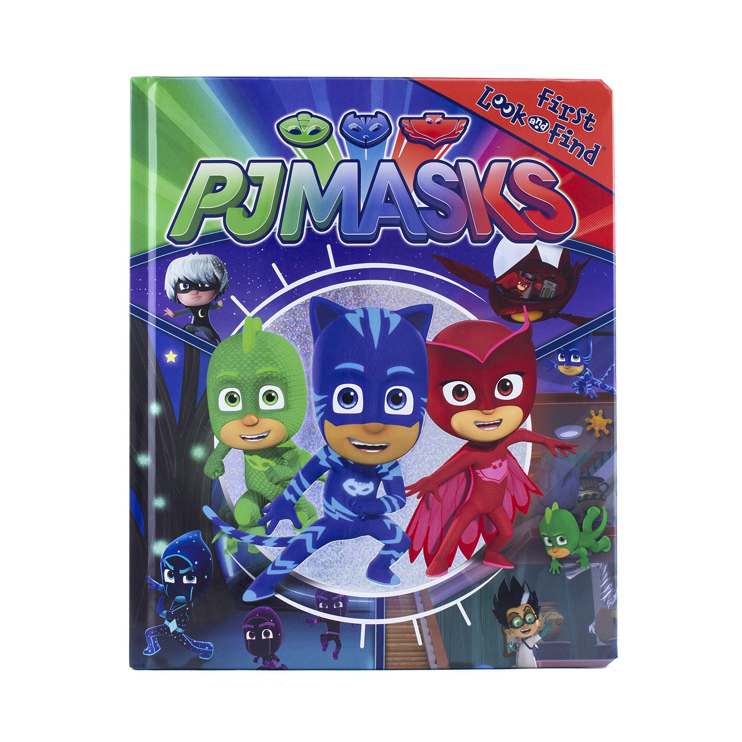 Amazon com: PJ Masks - First Look and Find - PI Kids
