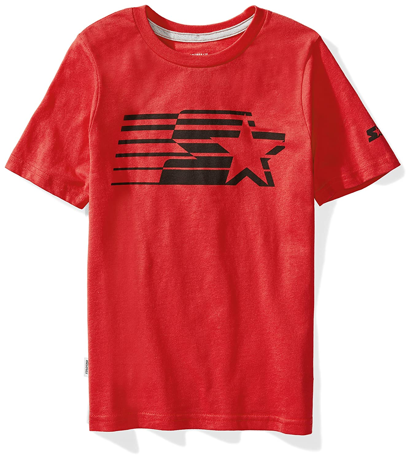 Starter Boys' Short Sleeve Shooting Star Logo T-Shirt,  Exclusive S17FBT21