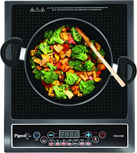 7. Pigeon by Stovekraft Cruise 1800-Watt Induction Cooktop