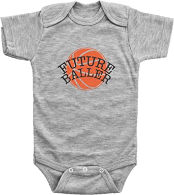 Future Soccer Player USA Baby Bodysuit One Piece