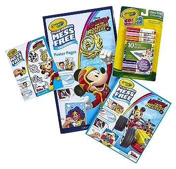 Amazon.com: Crayola Color Wonder Mess Free Coloring, Mickey Mouse ...