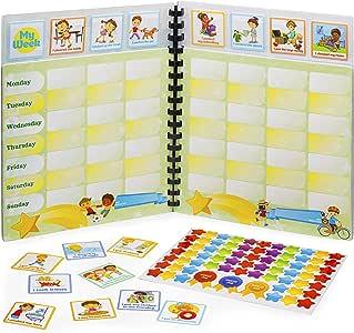Libro de recompensas. Sistema de tareas para niños. Diario