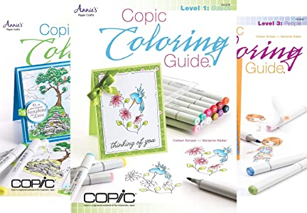 Copic Coloring Guide (4 book series) Kindle Edition