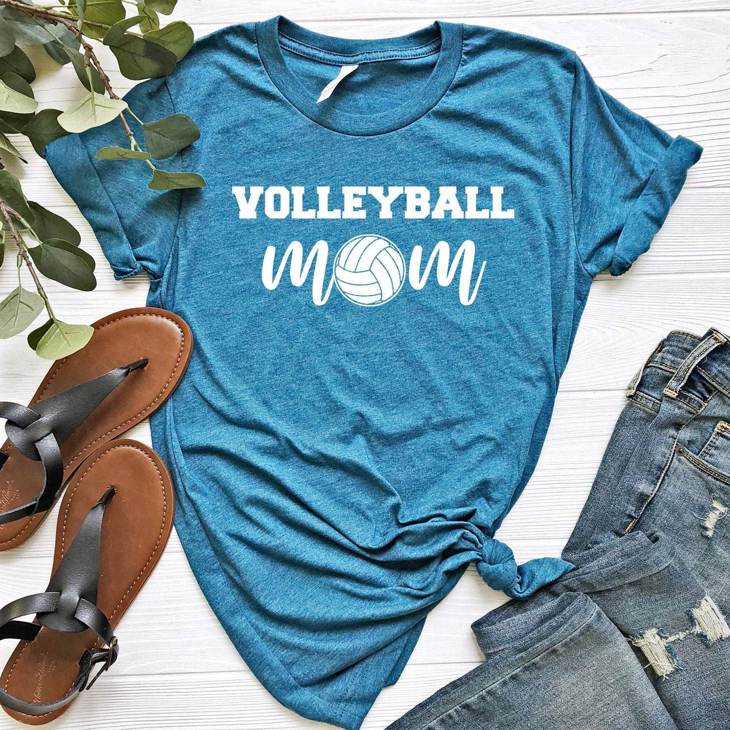 Volleyball Mom Shirt Volleyball Mom Women S Shirt Sports Tee Sports Mom Volleyball Shirt Volleyball Gift Volleyball Coach Volleyball