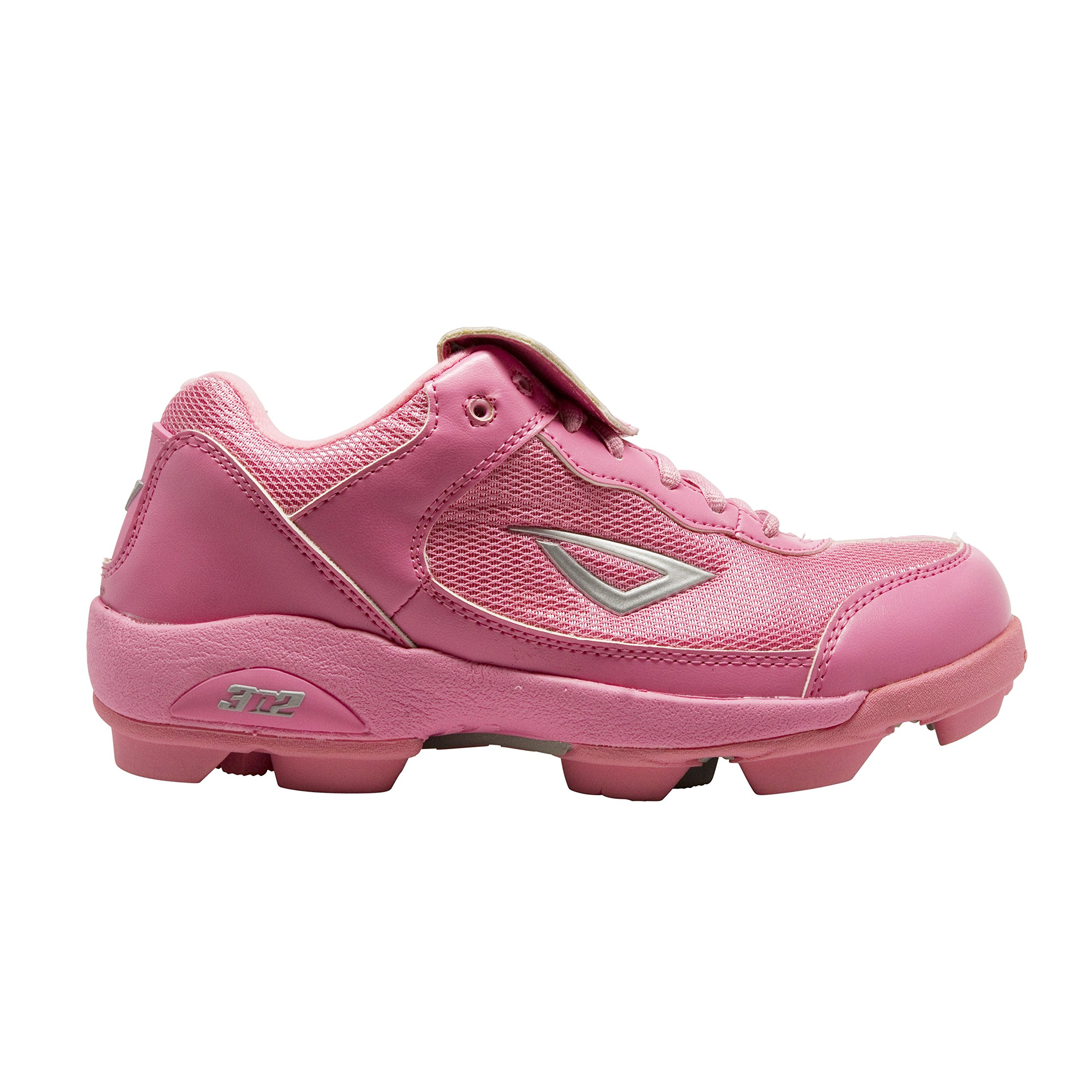 3N2 Youth Rookie Shoes, Pink, Size 5.5 by 3N2