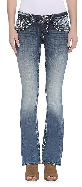 ff0b24c9abf Amazon.com  VIGOSS Women s Chelsea Bootcut Jean  Clothing