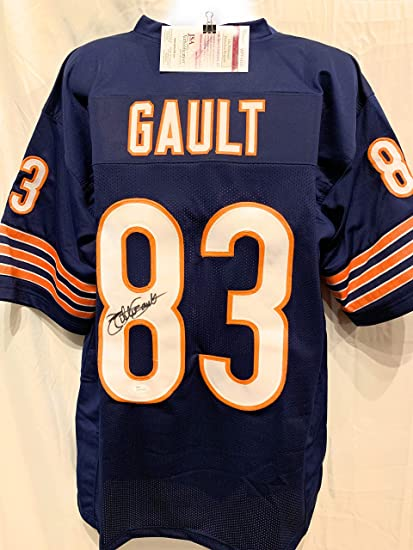 2daf3c10a18 Image Unavailable. Image not available for. Color  Willie Gault Chicago  Bears Signed Autograph Blue Custom Jersey JSA Witnessed Certified
