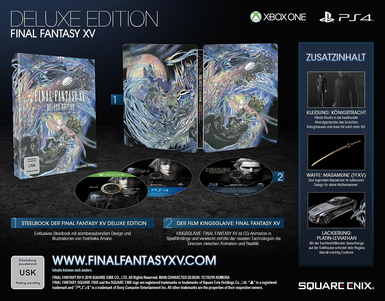 Final Fantasy XV - Deluxe Edition [Importación Alemana]: Amazon.es ...