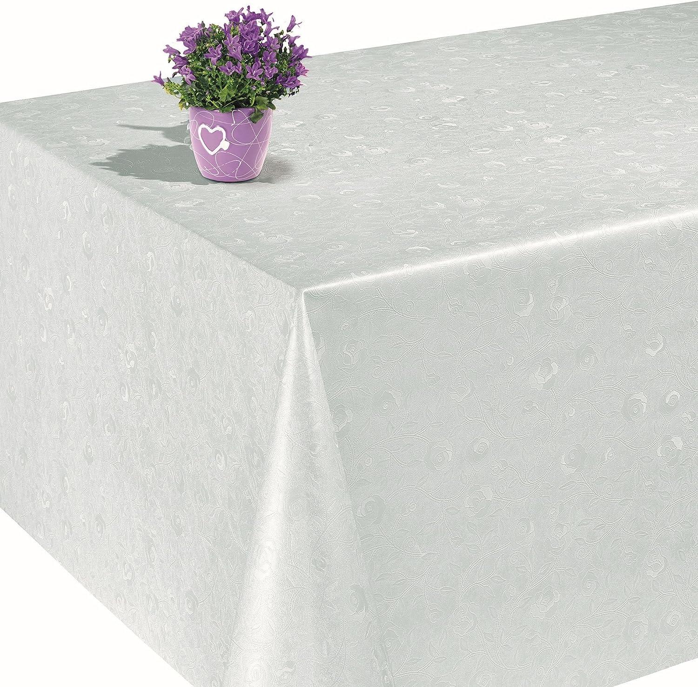 Mantel de hule encerado para mesa, lavable, diseño de rosas en ...