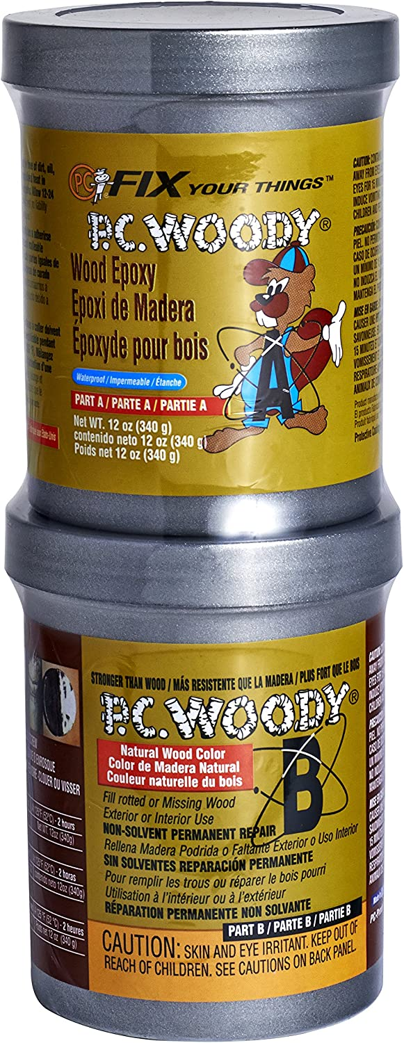 5. PC Products PC-Woody Wood Repair Epoxy Paste Tan 16333