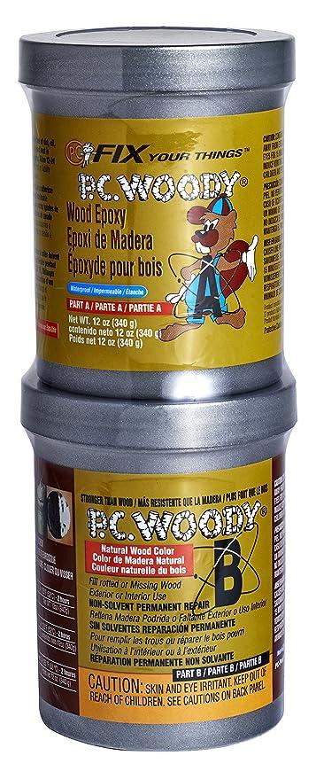 Amazon com: PC Products PC-Woody Wood Repair Epoxy Paste