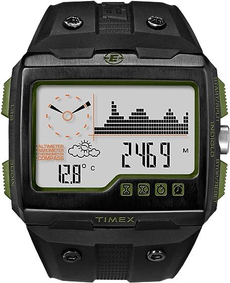 e367335594c3 Timex Expedition WS4 T49664 - Reloj de pulsera con brújula y GPS   Amazon.es  Relojes