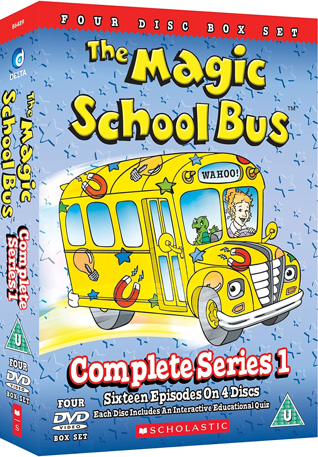 The Magic School Bus Complete Series 1 Dvd Amazoncouk Dvd