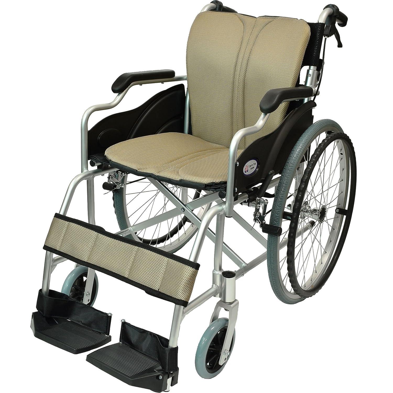 ケアテックジャパン 自走式 アルミ製 折りたたみ 車椅子 ハピネス ゴールド CA-10SU B00S0OANKU 11 ゴールド(黄褐色) 11 ゴールド(黄褐色)