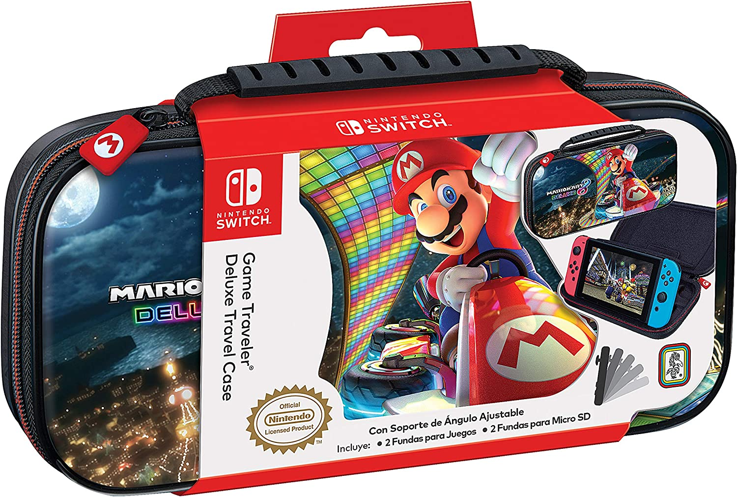 Ardistel - N-Switch Game Traveler Deluxe NNS50 MK (Nintendo Switch): Amazon.es: Videojuegos
