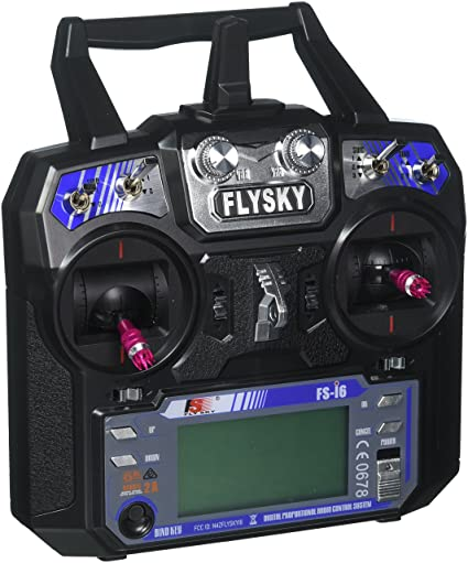 GoolRC Flysky FS-i6 AFHDS 2A 2 4GHz 6CH Radio System Transmitter for RC  Helicopter Glider with FS-iA6 Receiver Mode 2