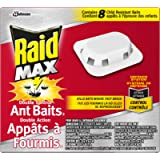 Raid Max Double Control ant Baits 1 ( pack of 8 )