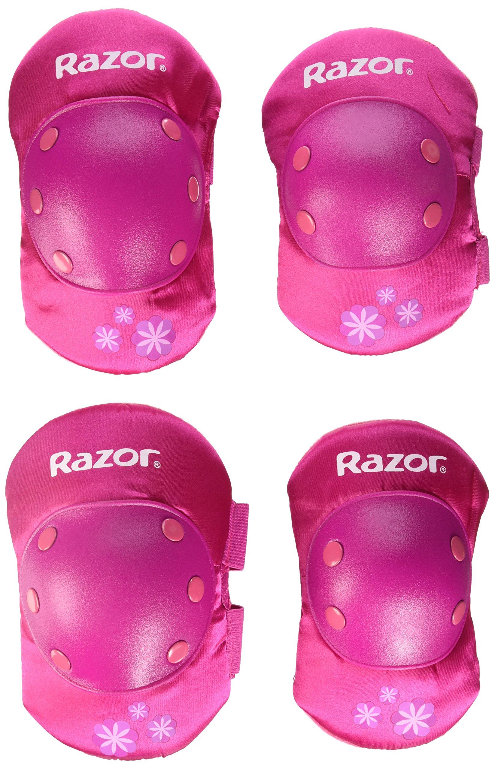 Razor Child Elbow and Knee Pad Set, Pink