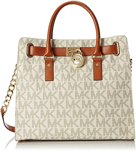 Michael Kors Large Hamilton Women's Handbag Tote Shoulder Bag ...