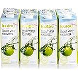 12x KULAU Bio-Kokoswasser PURE , reines Kokosnusswasser ohne Zusätze , 1 l