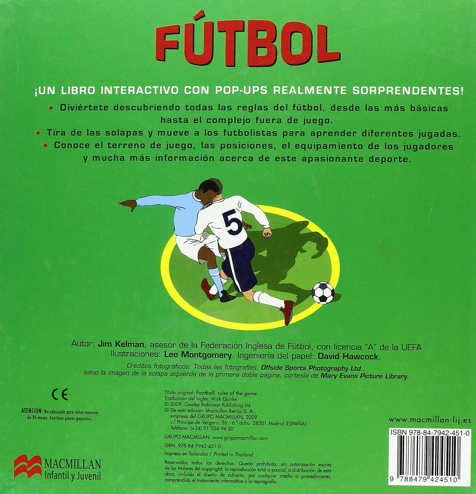 Futbol (+6) (Spanish) Hardcover – 2009
