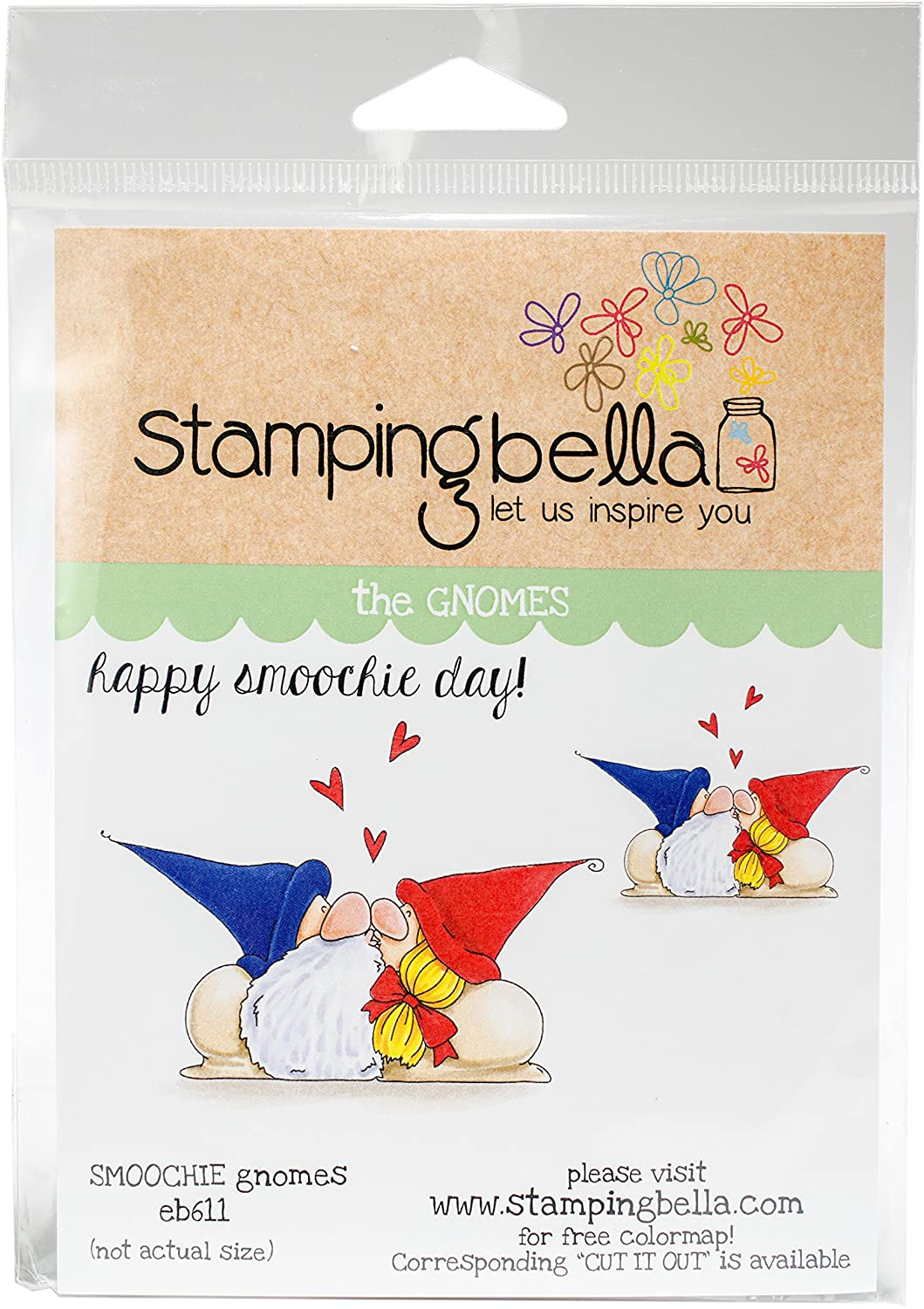 Stamping Bella Smoochie Gnomes Cling Stamps
